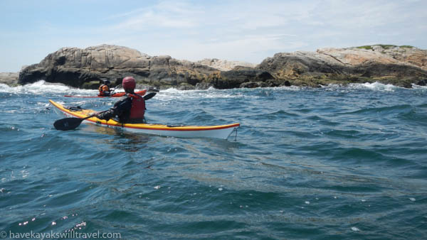 The beautiful, craggy coast of Rhode Island offers a wealth of paddling opportunities.
