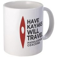 Yes, you can buy Have Kayaks, Will Travel swag!